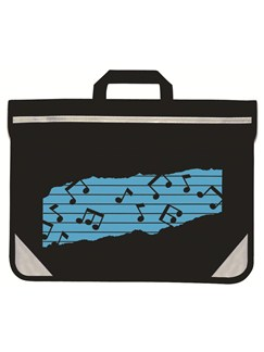 Mapac: Black Duo Carrier - Light Blue Music Motif  |