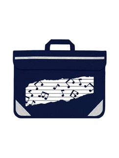 Mapac: Music Bag Duo - Music Notes (Navy)  |