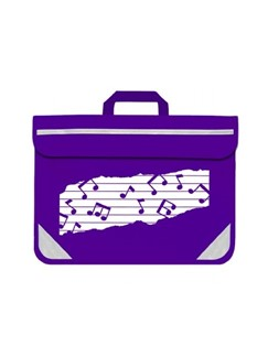 Mapac: Music Bag Duo - Music Notes (Purple)  |