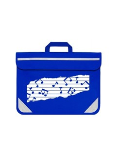 Mapac: Music Bag Duo - Music Notes (Royal Blue)  |