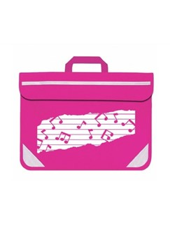 Mapac: Music Bag Duo - Music Notes (Pink)  |