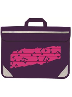 Mapac: Purple Duo Carrier - Pink Music Motif  |