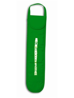 Green Recorder Bag  | Soprano (Descant) Recorder