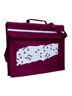 Mapac: Music Bag Primo (Maroon)  |