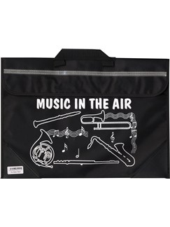 Mapac: Brass And Woodwind Music Bag - Music In The Air (Black)  |