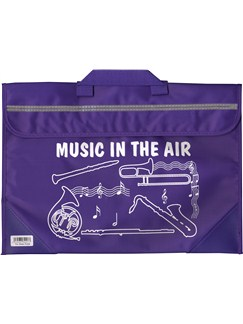 Mapac: Brass And Woodwind Music Bag - Music In The Air (Purple)  |