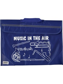 Mapac: Brass And Woodwind Music Bag - Music In The Air (Blue)  |