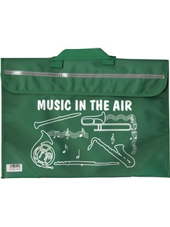 Mapac: Brass And Woodwind Music Bag - Music In The Air (Green)  |