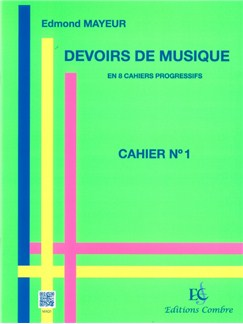 Edmond Mayeur: Devoirs De Musique - Cahier 1 Books |