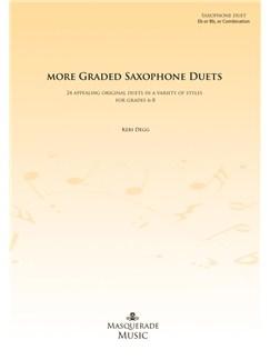 More Graded Saxophone Duets (Grades 6-8) Books | Saxophone (Duet)