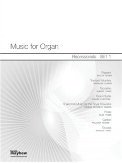 Music For Organ: Recessionals - Set 1 Books | Organ