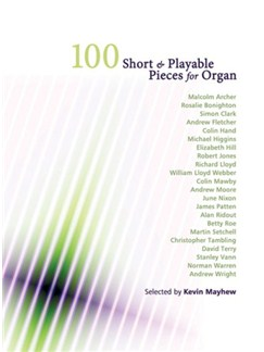 100 Short And Playable Pieces Books | Organ