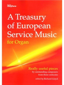 A Treasury Of European Service Music For Organ Books | Organ