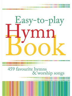 Easy-to-Play Hymn Book Books | Piano or Organ