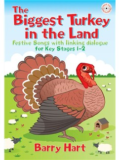 Barry Hart: Biggest Turkey In The Land (Book And CD) Books and CDs | Voice, Piano Accompaniment