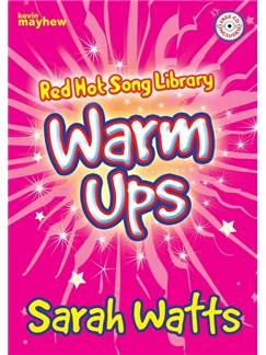 Sarah Watts: Red Hot Song Library - Warm Ups Books and CDs | Voice