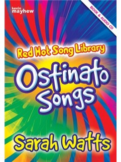 Sarah Watts: Red Hot Song Library - Ostinato Songs (Book/CD) Books and CDs | Voice