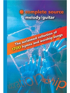 Complete Source - Melody/Guitar Books | Melody Line (with Chord Symbols)