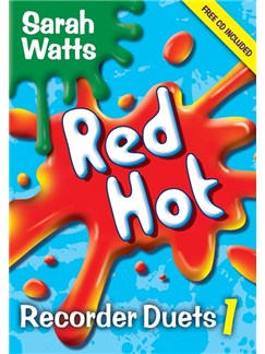 Sarah Watts: Red Hot Recorder Duets - Book 1 Books and CDs | Recorder (Duet)