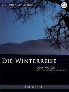 Franz Schubert: Die Winterreise (Low Voice) Books | Low Voice
