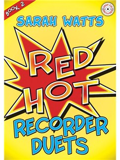 Sarah Watts: Red Hot Recorder Duets Book Two Books and CDs | Recorder (Duet)