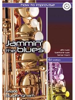 Jammin' The Blues - E Flat Edition Bog og CD | Eb-instrumenter, Altsaxofon, Barytonsaxofon, Tenorhorn