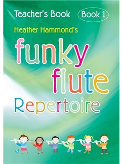 Funky Flute Repertoire Book 1 (Teacher Book) Books | Flute, Piano Accompaniment