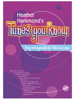 Heather Hammond: Tunes You Know Books and CDs | Flute, Piano Accompaniment