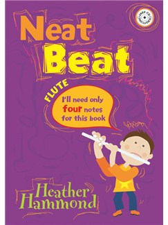 Heather Hammond: Neat Beat (Four Notes) Books and CDs | Flute, Piano Accompaniment