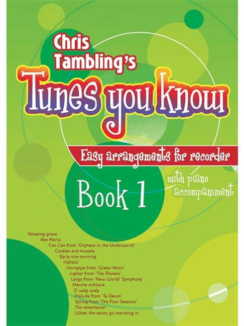 Chris Tamblings Tunes You Know Book 1 Recorder Piano
