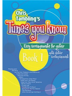 Chris Tambling's Tunes You Know - Book 1 (Guitar) Books | Guitar