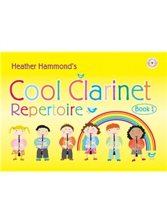 Heather Hammond: Cool Clarinet - Student Repertoire Books and CDs | Clarinet