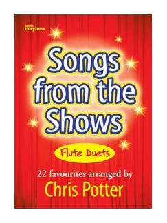 Christine Potter: Songs From The Shows (Flute Duets) Books | Flute (Duet)