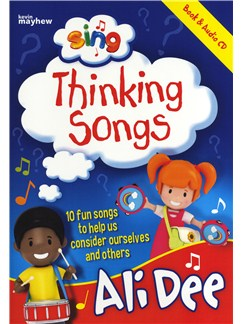 Ali Dee: Sing Thinking Songs Books and CDs | Piano, Vocal & Guitar (with Chord Symbols)