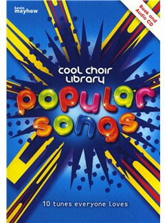 Popular Songs - Cool Choir Library Books and CDs | 2-Part Choir, Piano Accompaniment