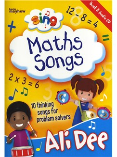 Ali Dee: Sing Maths Songs Books and CDs | Piano, Vocal & Guitar (with Chord Symbols)