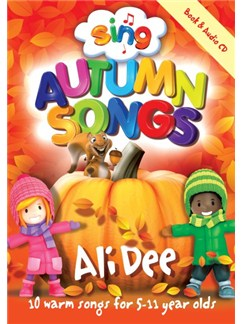 Sing: Autum Songs With CD Books and CDs | Voice