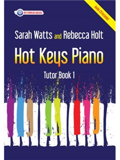 Hot Keys Piano Tutor: Book 1 Books and CDs | Piano
