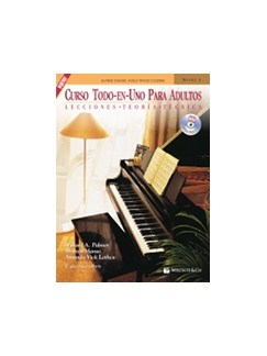Curso Todo-En-Uno Para Adultos + CD (Spanish Edition) Books and CDs | Piano