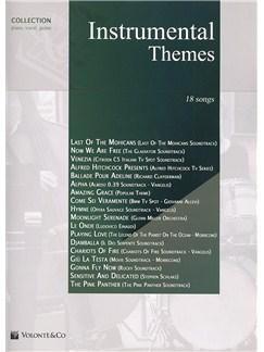 Instrumental Themes Collection - 25 Songs Livre   Piano, Chant et Guitare (Symboles d'Accords)