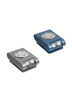 Mighty Bright: Microclip Light Twin Pack (Blue/Silver)  |
