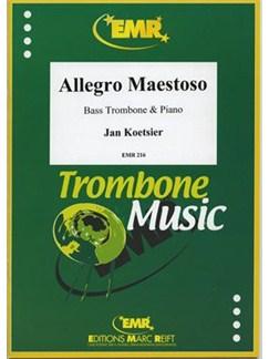 Jan Koetsier: Allegro Maestoso Books   Bass Trombone