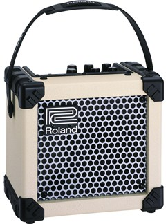 Roland: Micro Cube Guitar Amplifier - White  | Electric Guitar