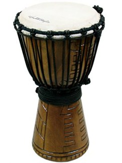 World Rhythm: Jammer Series 60cm Djembe - Tribal Natural Instruments | Percussion, World Drums
