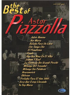 The Best Of Astor Piazzolla Books | Voice, Piano Accompaniment