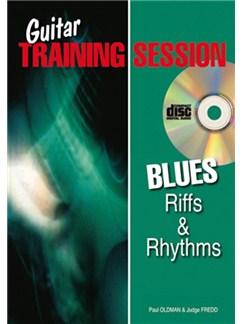 Guitar Training Session: Blues Riffs & Rhythms (Book/CD) Books and CDs | Guitar