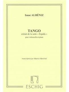 Isaac Albéniz: Tango (From Espana) Books | Cello, Piano Accompaniment