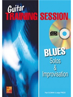 Guitar Training Session: Blues Solos & Improvisation (Book/CD) Books and CDs | Guitar