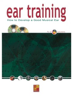 Ear Training: How To Develop A Good Musical Ear (Book/2 CDs) Books and CDs | All Instruments