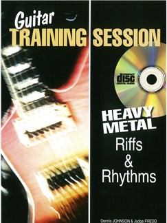 Guitar Training Session: Heavy Metal Riffs & Rhythms (Book/CD) Books and CDs | Guitar